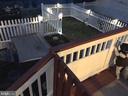 Fenced yard at night - 42713 CENTER ST, CHANTILLY