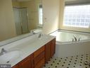 Master Bathroom - 10415 NAPOLEON ST, FREDERICKSBURG
