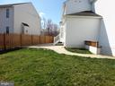 Yard - 10415 NAPOLEON ST, FREDERICKSBURG