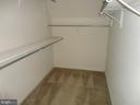 Master Bedroom Walk-in Closet - 10415 NAPOLEON ST, FREDERICKSBURG