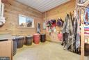 Tack Room with Built-ins - 7960 TALBOT RUN RD, MOUNT AIRY