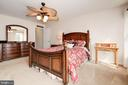 Master Suite with His and Hers Closets - 7960 TALBOT RUN RD, MOUNT AIRY