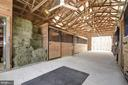 Ample hay storage for over 100 bales - 7960 TALBOT RUN RD, MOUNT AIRY
