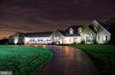 Custom landscaping and exterior lighting - 7960 TALBOT RUN RD, MOUNT AIRY