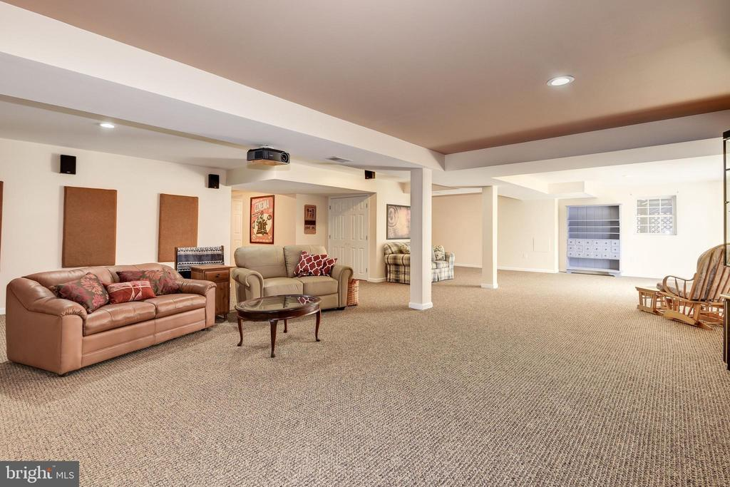 Space for the Whole Family on Movie Night - 7960 TALBOT RUN RD, MOUNT AIRY