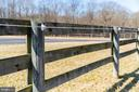 Safe board fencing with hot wire - 7960 TALBOT RUN RD, MOUNT AIRY