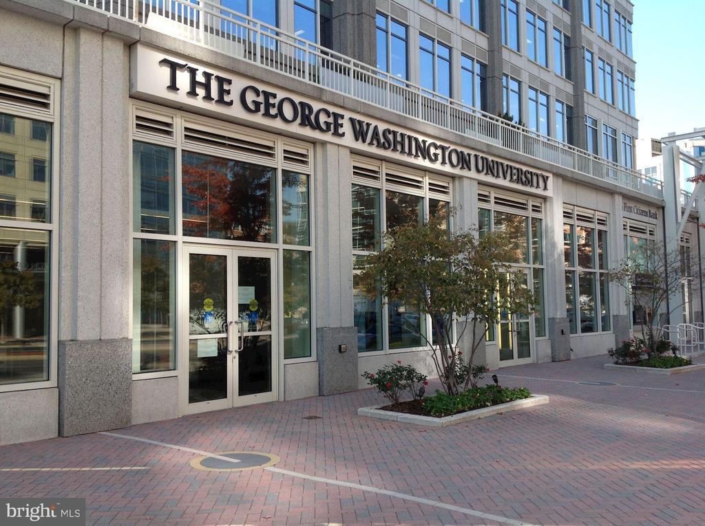 George Washington University Ballston campus - 4141 HENDERSON RD #324, ARLINGTON