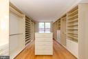 Master BR room size walk in closet/dressing area! - 900 N TAYLOR ST #1929 AND 1931, ARLINGTON