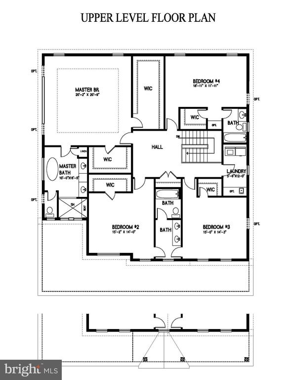 Floor Plan - 2809 ROSEMARY LN, FALLS CHURCH