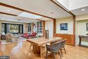 Beautiful built in sideboard. - 38052 SNICKERSVILLE TPKE, PURCELLVILLE