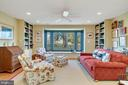 Library with built in bookcases - 38052 SNICKERSVILLE TPKE, PURCELLVILLE