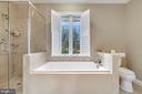 Master bath soaking tub - 38052 SNICKERSVILLE TPKE, PURCELLVILLE