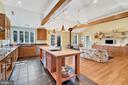 Cooks Kitchen with spacious island - 38052 SNICKERSVILLE TPKE, PURCELLVILLE