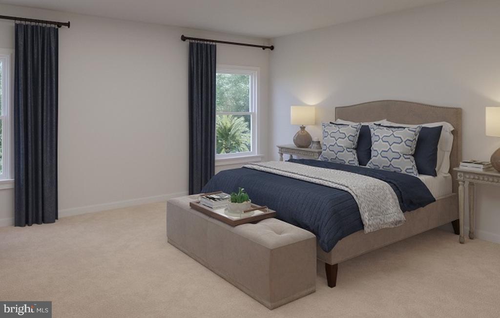 Master Bedroom - 124 PENNS CHARTER LN, STAFFORD