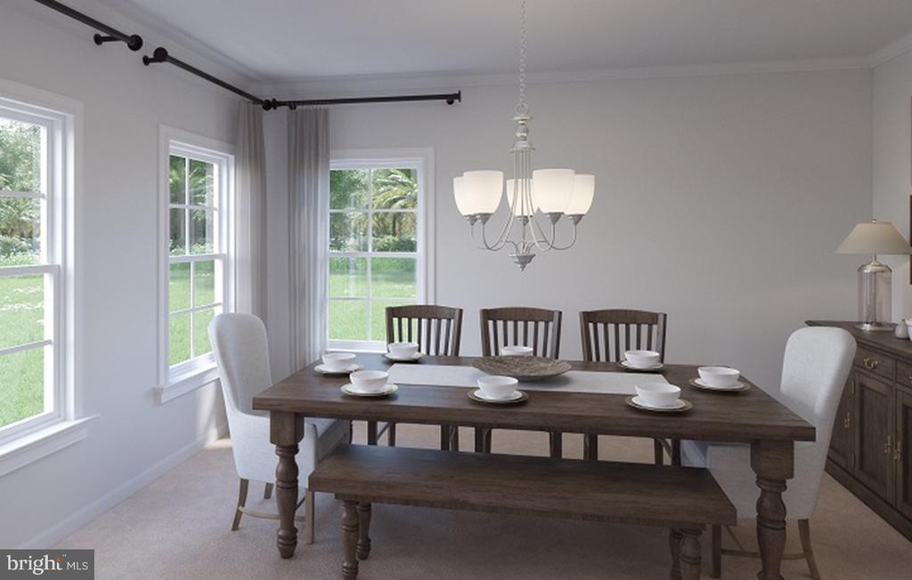 Dining Room - 124 PENNS CHARTER LN, STAFFORD