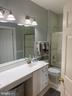 Freshly Painted Upper Hall Bath - 47297 OX BOW CIR, STERLING