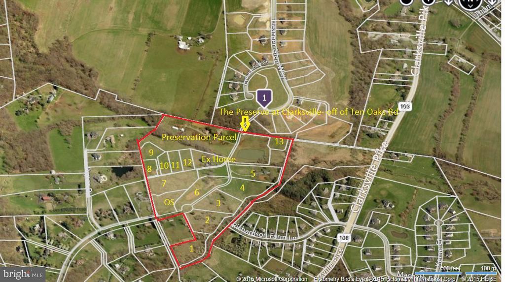 Lot Location - 6517 HEATHER GLEN WAY, CLARKSVILLE