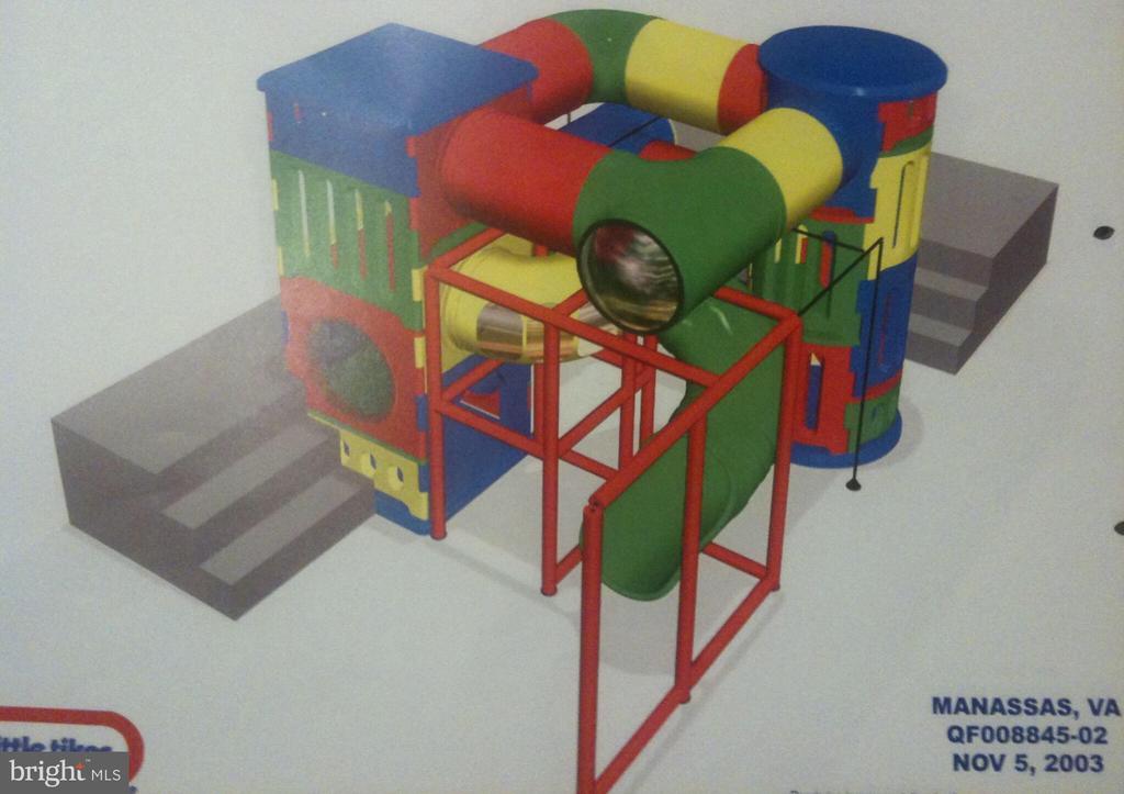Indoor playground details - 6910 SCENIC POINTE PL, MANASSAS