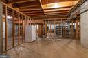 Basement Studded Out with Safe Room - 24080 CLIFF DR, WORTON