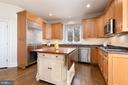 Chef's Kitchen with High End Cabinets - 24080 CLIFF DR, WORTON