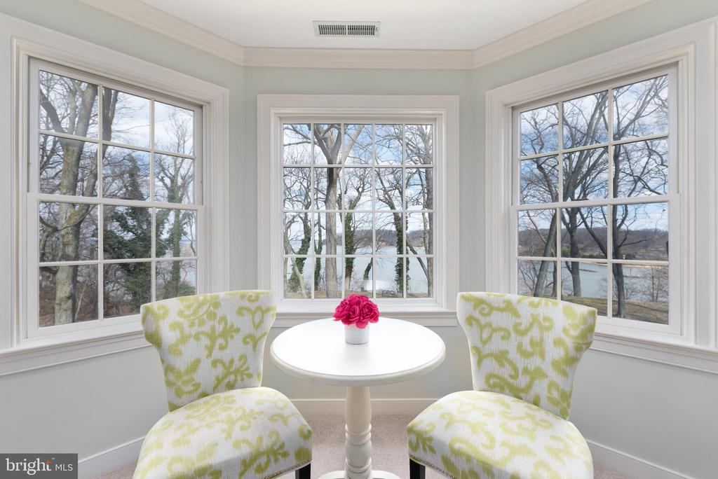 Master BR Sitting Area with Water Views - 24080 CLIFF DR, WORTON