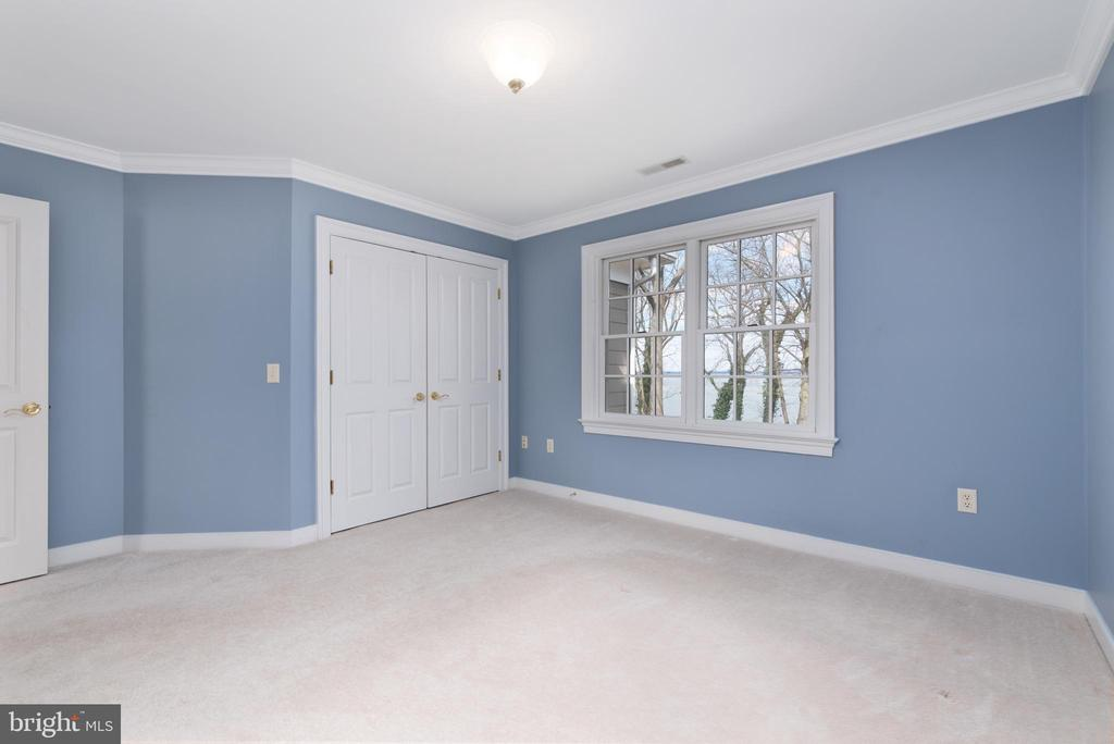 Bedroom #1 with Water Views - 24080 CLIFF DR, WORTON