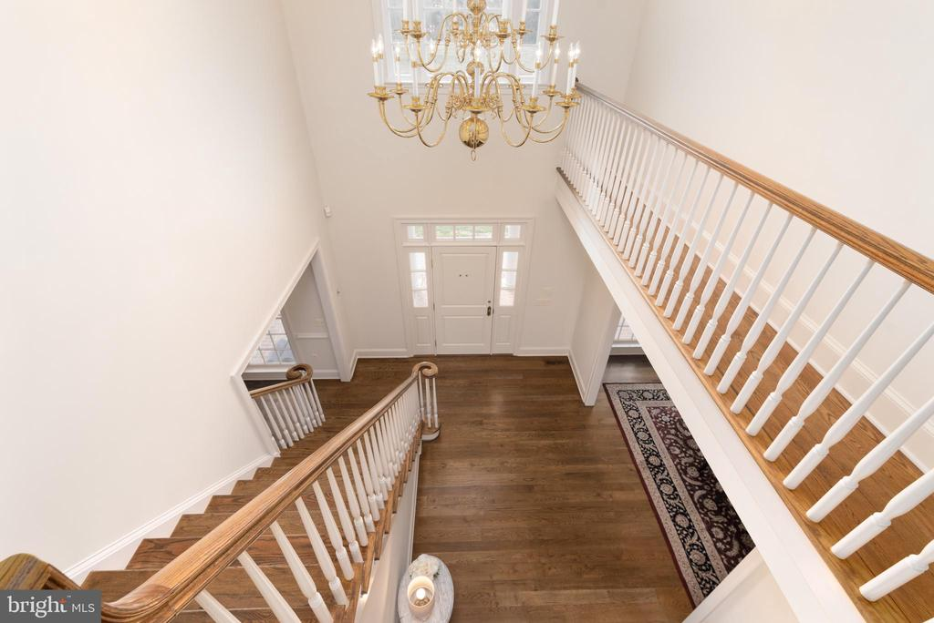 Grand Foyer with Finished Staircase - 24080 CLIFF DR, WORTON