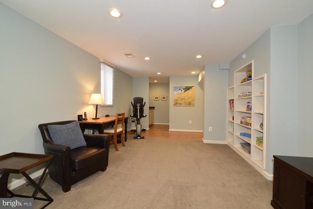 Lower Level Rec/Game Rm with Egress Window - 13366 POINT RIDER LN, HERNDON