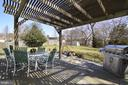 Beautiful Slate Patio with Pergola - 13366 POINT RIDER LN, HERNDON