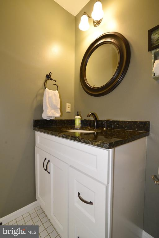 Powder Room in Main Hall - 13366 POINT RIDER LN, HERNDON