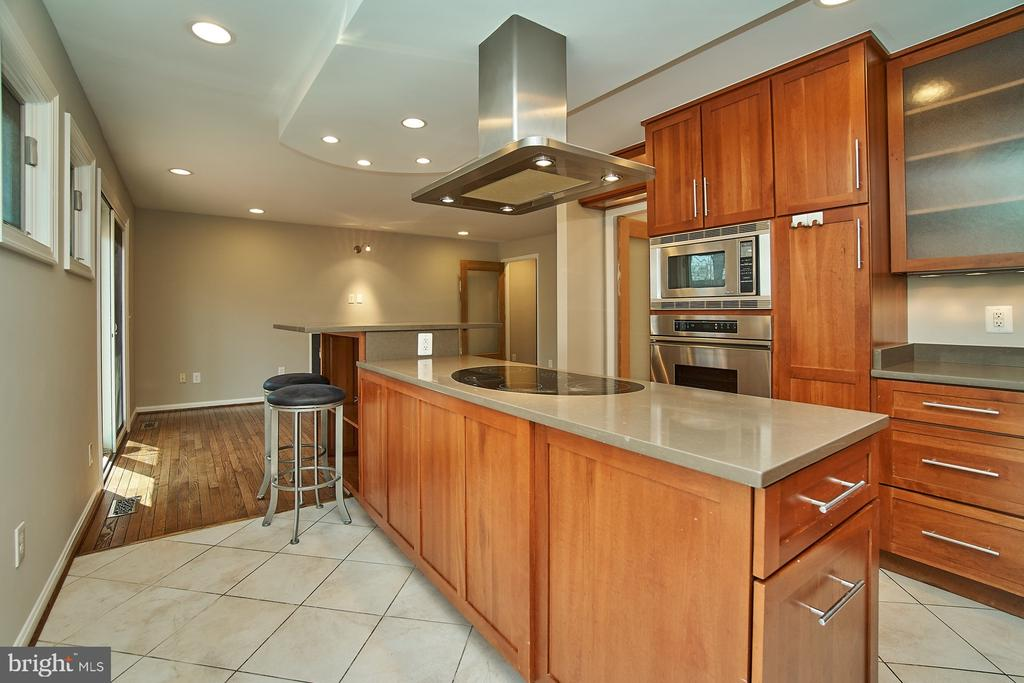 Cabinets and counter space galore - 8588 CORAL GABLES LN, VIENNA