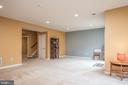 Basement w/bedroom & full bath - 38 COACHMAN CIR, STAFFORD