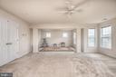 Master Bedroom w/sitting room - 38 COACHMAN CIR, STAFFORD