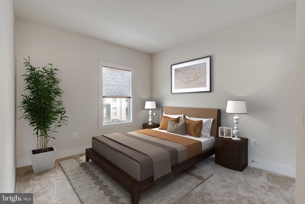 Secondary modern bedroom - 44732 ROOSEVELT SQ, ASHBURN