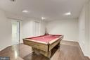 Finished Lower Level - 47202 REDBARK PL, STERLING