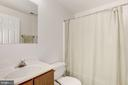 Finished Lower Level - Full Bath - 47202 REDBARK PL, STERLING