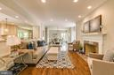 Fabulous space to entertain and relax (stock pic) - 7412 HAMILTON ST, ANNANDALE