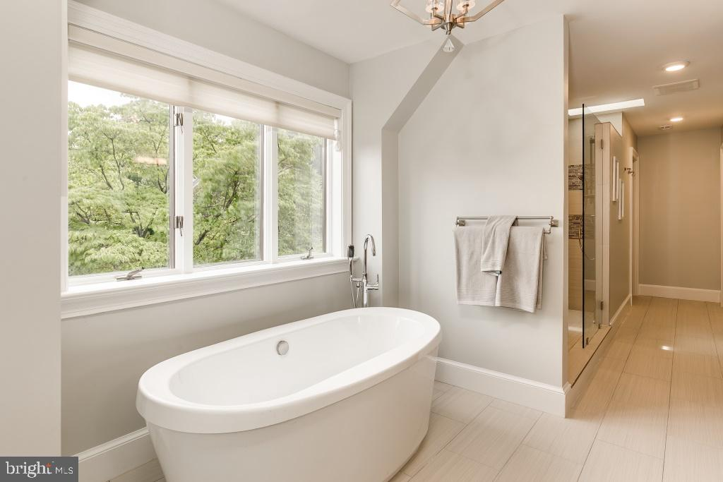 Bathing Oasis in Master Bathroom (stock pic) - 7412 HAMILTON ST, ANNANDALE