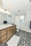 Modern Hall Bathroom option (stock pic) - 7412 HAMILTON ST, ANNANDALE