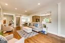 Tons of light throughout the Open Spaces(stock pic - 7412 HAMILTON ST, ANNANDALE