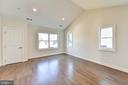 OWNER'S SUITE WITH VAULTED CEILING - 4509 CHESTNUT ST, BETHESDA