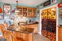 Lower level bar and wine room - 14720 SUMMIT VIEW, PURCELLVILLE