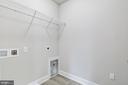 Laundry Room on the Bedroom Level. - 117 WOOD LANDING RD, FREDERICKSBURG