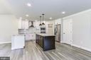 Kitchen with Optional Upgraded Cabinets & Granite - 117 WOOD LANDING RD, FREDERICKSBURG