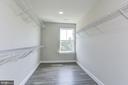Large Master Closet with Optional flooring. - 117 WOOD LANDING RD, FREDERICKSBURG