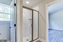 Master Bath with Shower, - 117 WOOD LANDING RD, FREDERICKSBURG