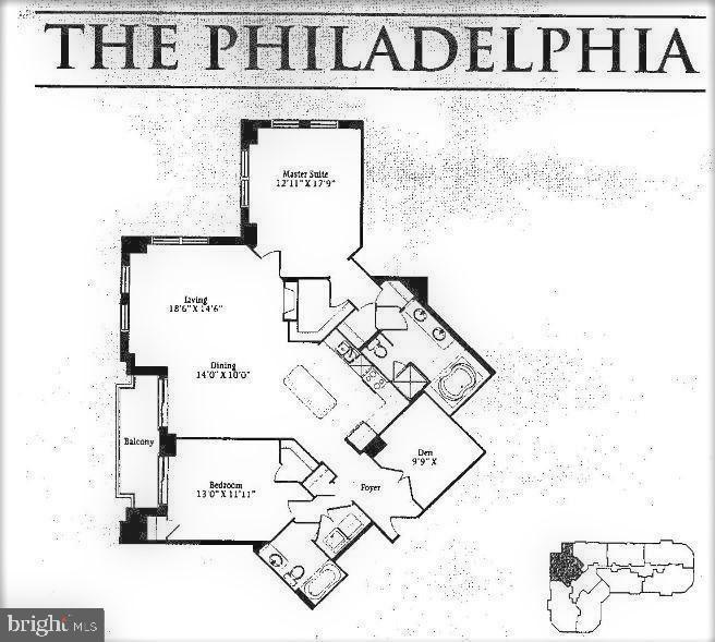 Spacious open floor plan - 1830 FOUNTAIN DR #1001, RESTON