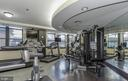 Fully equipped fitness room - 1830 FOUNTAIN DR #1001, RESTON
