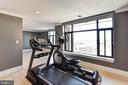 SECOND BEDROOM/EXERCISE ROOM - 4750 41ST ST NW #PH502, WASHINGTON