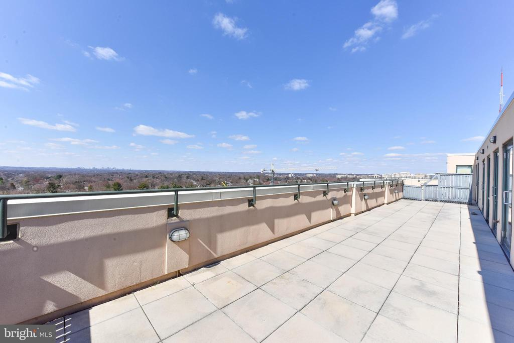 520 SQ. FT. PRIVATE TERRACE - 4750 41ST ST NW #PH502, WASHINGTON